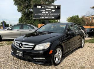 Used 2011 Mercedes-Benz C 300 C 300 4MATIC AWD LEATHER SUNROOF NO ACCIDENT for sale in Mississauga, ON