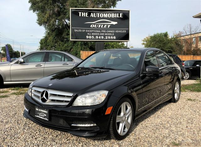 2011 Mercedes-Benz C 300 C 300 4MATIC AWD LEATHER SUNROOF NO ACCIDENT