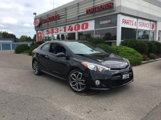 Used 2014 Kia Forte SX Luxury | 1.6L Turbo for sale in Port Dover, ON