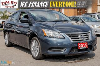 Used 2015 Nissan Sentra SV | BACKUP CAM | HEATED SEATS | BLUETOOTH | for sale in Hamilton, ON