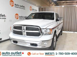 Used 2015 RAM 1500 Big horn, 3.0L V6, 4x4, Crew cab, Long box, Heated cloth seats, Heated steering wheel, Bluetooth for sale in Edmonton, AB