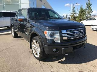 Used 2013 Ford F-150 LIMITED, POWER HEATED/VENTED LEATHER SEATS, SUNROOF, NAVI for sale in Edmonton, AB