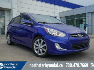 Used 2014 Hyundai Accent GLS HATCH/SUNROOF/ALLOYS/HEATEDSEATS for sale in Edmonton, AB