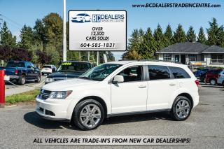 Used 2011 Dodge Journey SXT, Affordable, 176k, Very Clean, White! for sale in Surrey, BC