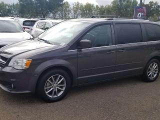 Used 2015 Dodge Grand Caravan SXT; 7PASS, NAV, BACKUP CAM, BLUETOOTH AND MORE for sale in Edmonton, AB