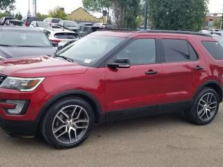 Used 2016 Ford Explorer SPORT; 6PASS, NAV, BLUETOOTH, BACKUP CAM, HEATED/COOLING SEATS, SUNROOF AND MORE for sale in Edmonton, AB