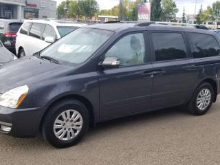 Used 2014 Kia Sedona LX; 7PASS, HEATED SEATS, CRUISE CONTROL, A/C AND MORE for sale in Edmonton, AB