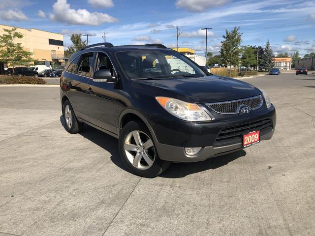 2009 Hyundai Veracruz 7 Pass, AWD,Leather,roof,3/Y Warranty Avai
