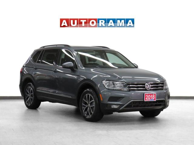2018 Volkswagen Tiguan Comfortline 4WD Leather Pano-Sunroof Backup Cam