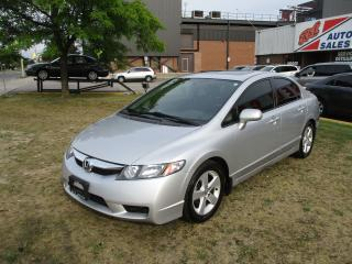 Used 2009 Honda Civic Sport~SUNROOF~ALLOY WHEELS~AUTO~CERTIFIED for sale in Toronto, ON