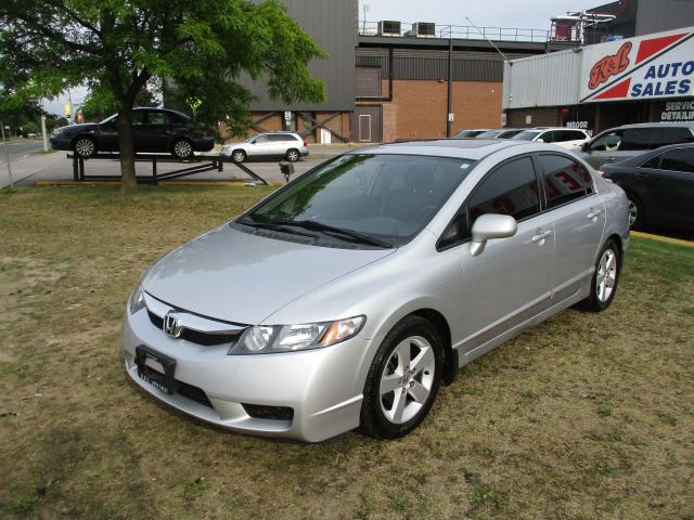 2009 Honda Civic Sport~SUNROOF~ALLOY WHEELS~AUTO~CERTIFIED