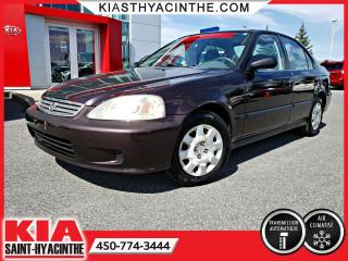 Used 2000 Honda Civic SE ** AUTO + A/C for sale in St-Hyacinthe, QC