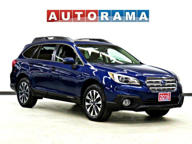 2016 Subaru Outback 3.6R Limited & Tech Pkg 4WD Nav Leather SRoof Bcam