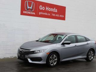 Used 2018 Honda Civic Sedan HONDA CERTIFIED, LX SEDAN for sale in Edmonton, AB