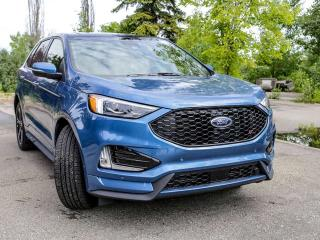 New 2019 Ford Edge ST 400A, 2.7L GTDI, Auto Start/Stop, Power Heated Seats, Lane Keeping System, Power Liftgate, Reverse Camera System, Panoramic Roof, and NAV for sale in Edmonton, AB
