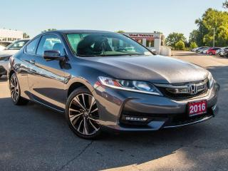 Used 2016 Honda Accord Coupe EX 2dr FWD Coupe for sale in Brantford, ON