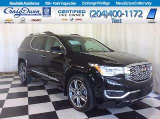 Used 2017 GMC Acadia * DENALI AWD * DUAL PANEL SUNROOF * HEATED & COOLED LEATHER * for sale in Portage la Prairie, MB