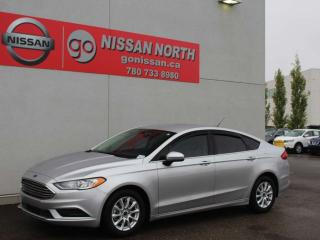 Used 2017 Ford Fusion S/ONE OWNER/SYNC/BACKUP CAM for sale in Edmonton, AB