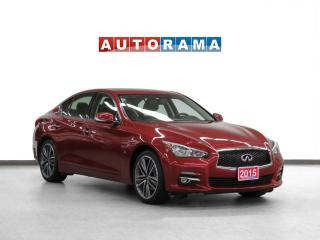 Used 2015 Infiniti Q50 4WD Navigation Leather Sunroof Backup Cam for sale in Toronto, ON