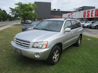Used 2001 Toyota Highlander V6 4WD~CERTIFIED!!! for sale in Toronto, ON