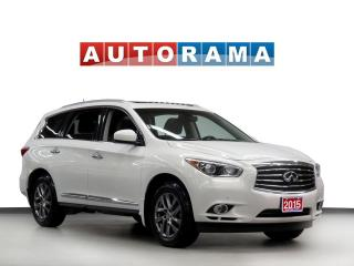 Used 2015 Infiniti QX60 4WD Navigation Leather Sunroof Bcam 7Pass for sale in Toronto, ON