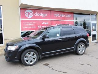Used 2012 Dodge Journey R/T AWD / 7 PASS / LEATHER for sale in Edmonton, AB