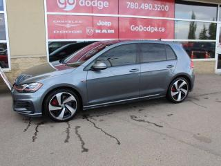 Used 2018 Volkswagen Golf GTI GTI / Sunroof / GPS Navigation / Back Up Camera for sale in Edmonton, AB