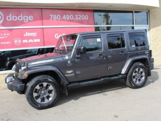 Used 2014 Jeep Wrangler Unlimited Sahara / Heated Front Seats for sale in Edmonton, AB