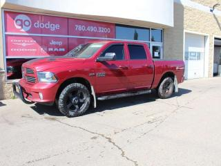 Used 2013 RAM 1500 Sport 4x4 Crew Cab / GPS Navigation / Back Up Camera for sale in Edmonton, AB
