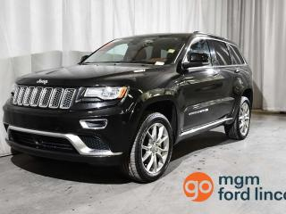 Used 2015 Jeep Grand Cherokee SUMMI for sale in Red Deer, AB