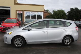 Used 2018 Toyota Prius v for sale in Brampton, ON