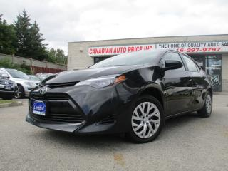 Used 2019 Toyota Corolla LE-BACK UP CAMERA-HEATED SEATS-BLUETOOTH for sale in Scarborough, ON