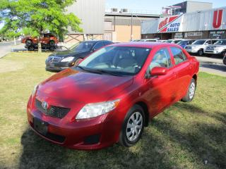 Used 2010 Toyota Corolla CE~POWER OPTIONS~AUTO~CERTIFIED!!! for sale in Toronto, ON