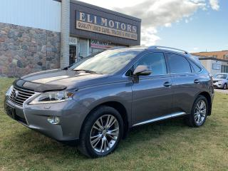 Used 2013 Lexus RX 350 ULTRA PREMIUM AWD NAVI HEADS UP DISP BLIS for sale in North York, ON