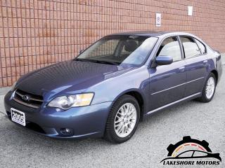 Used 2005 Subaru Legacy 2.5i AWD LIMITED || CERTIFIED || for sale in Waterloo, ON
