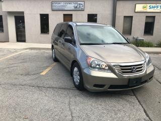 Used 2009 Honda Odyssey LX,VERY CLEAN! NO ACCIDENTS LOCAL TRADE for sale in Burlington, ON