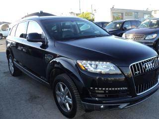 Used 2011 Audi Q7 TDI 7 PASSENGER PAORAMIC ROOF,AWD for sale in Oakville, ON