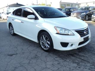 Used 2014 Nissan Sentra SR NAVIGATION,CAMERA,SUN ROOF PUSH START for sale in Oakville, ON