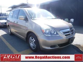 Used 2007 Honda Odyssey EXL 4D Wagon for sale in Calgary, AB