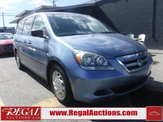 Used 2007 Honda Odyssey 4D WAGON for sale in Calgary, AB
