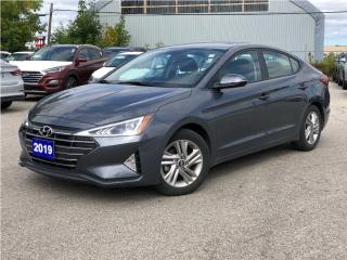 Used 2019 Hyundai Elantra 2019 Hyundai Elantra - Preferred Auto for sale in Toronto, ON