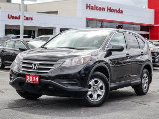 Used 2014 Honda CR-V LX 4WD|NO ACCIDENTS for sale in Burlington, ON
