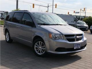 Used 2016 Dodge Grand Caravan SXT**Full Stowngo**Power Windows**Alloys for sale in Mississauga, ON