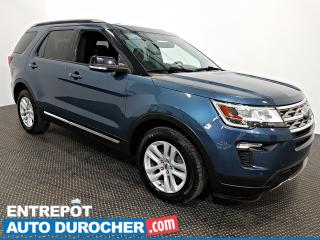 Used 2018 Ford Explorer XLT 4X4 7 PASSAGERS - NAVIGATION - Caméra de Recul for sale in Laval, QC