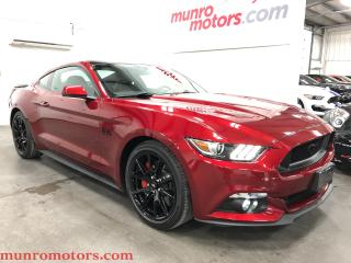 Used 2017 Ford Mustang GT Premium MBRP SCT Tuned Low KMs 6 speed NAV for sale in St. George Brant, ON