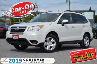 Used 2016 Subaru Forester AWD REAR CAM HTD SEATS A/C BLUETOOTH LOADED for sale in Ottawa, ON