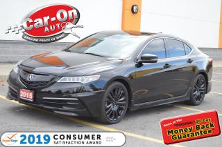 Used 2015 Acura TLX SH-AWD V6 Tech LEATHER NAV SUNROOF REAR CAM LOADED for sale in Ottawa, ON