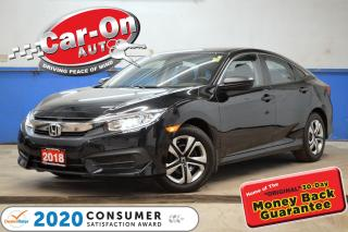 Used 2018 Honda Civic REAR CAMERA POWER GRP BLUETOOTH 32,000 KM for sale in Ottawa, ON