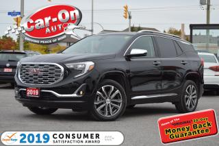 Used 2019 GMC Terrain DENALI LEATHER NAV PANO ROOF EVERY POSSIBLE OPTIO for sale in Ottawa, ON