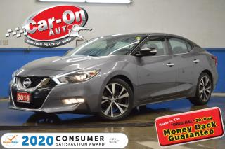 Used 2016 Nissan Maxima SL LEATHER NAV SUNROOF REAR CAM HTD SEATS for sale in Ottawa, ON